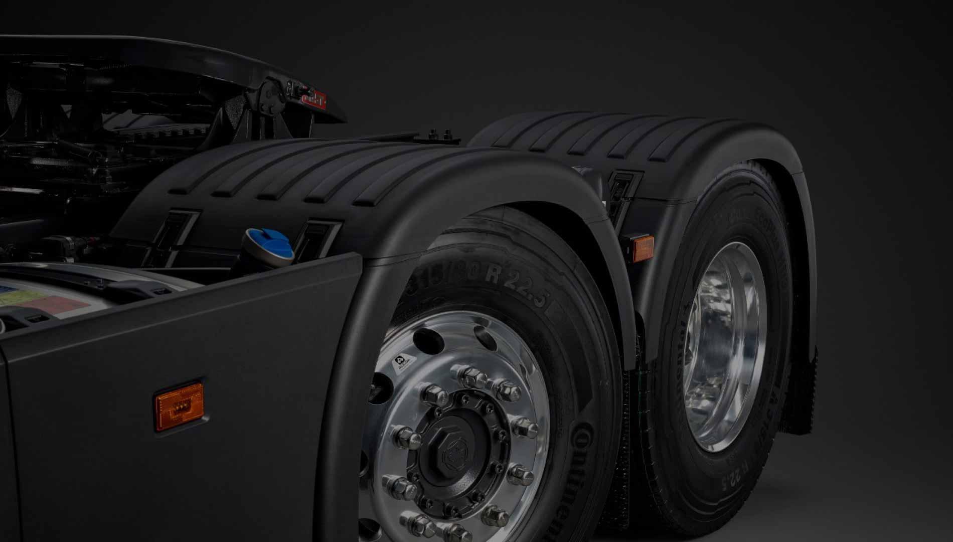 Характеристики и спецификации модельного ряда Scania (Скания) серии S